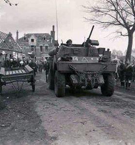 Bevrijding Oost-Nederland, 1945