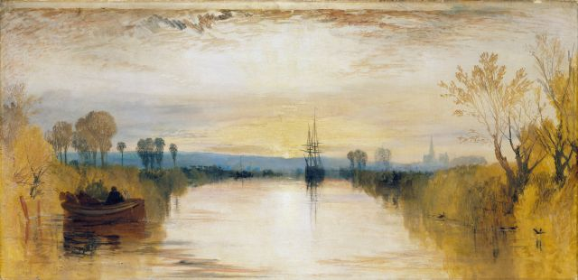 Chichester Canal, van J.M.W. Turner
