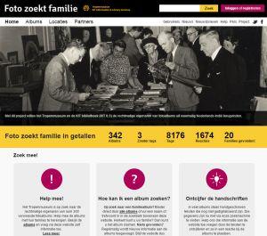 Foto zoekt familie: de website