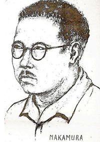 Hiroshi Nakamura, zoals getekend door Louise Brunsveld van Hulten