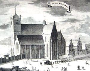 De Sint Pieterskerk in Middelburg