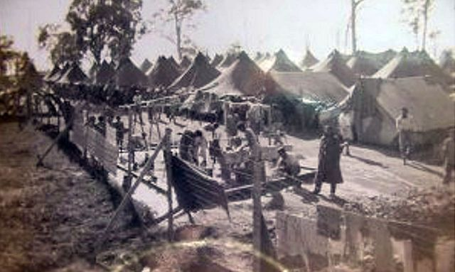 Camp Victory, ca. 1946.