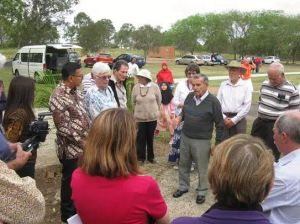 Vertegenwoordigers van het Indonesische consulaat waren eregasten tijdens het seminar. (Foto Anthony Liem)