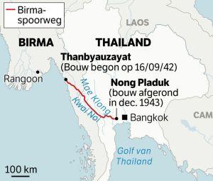 Birma-Thailand spoorlijn