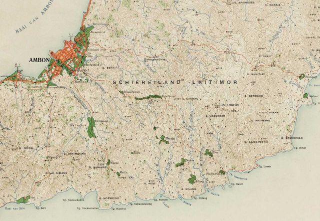 Het schiereiland Leitimor