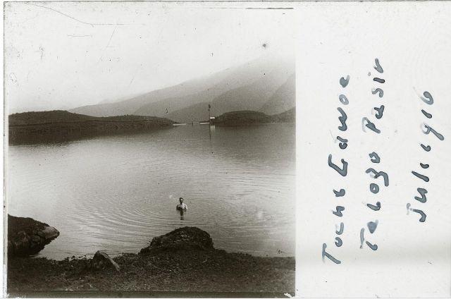 Sarangan, 1916 (foto J.J. Hansma)