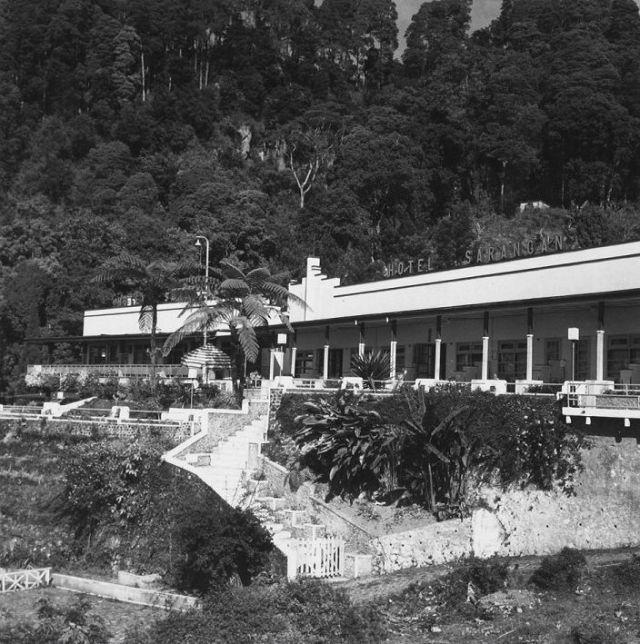 Hotel Sarangan, 1971. (foto: Boy Lawson)