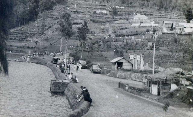 Sarangan, na de oorlog