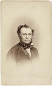 Vincent Jacob van Dolder, carte de visite, 1862