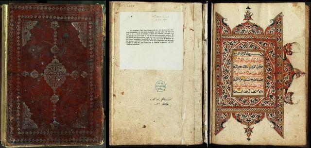 De koran die kapitein IJssel de Schepper in 1873 op het slagveld buitmaakte.