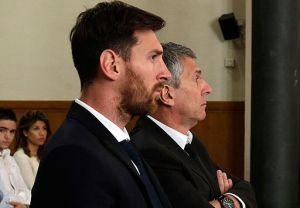 Messi, samen met zijn vader, voor de rechtbank