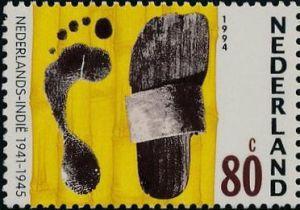 Herdenkingszegel 1994, definitieve versie.