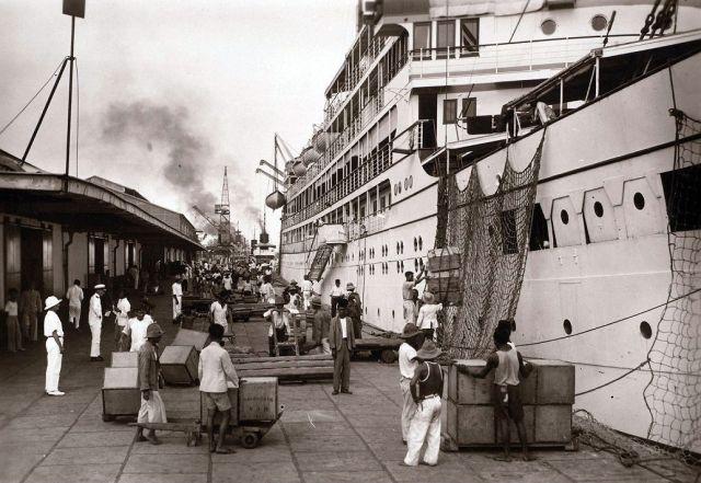 De haven van Tandjoeng Priok, Batavia