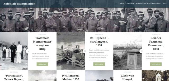 Een nieuwe website van Java Post: Koloniale Monumenten