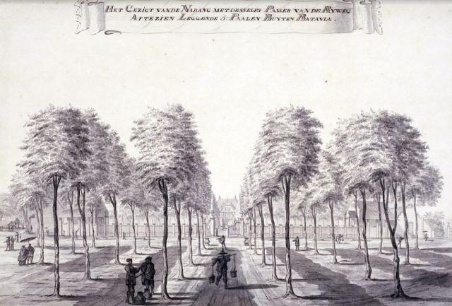 Het landgoed van Van Imhoff, ca. 1770
