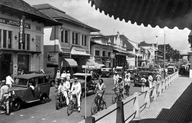 Bandoeng, Groote Postweg Oost, 1938