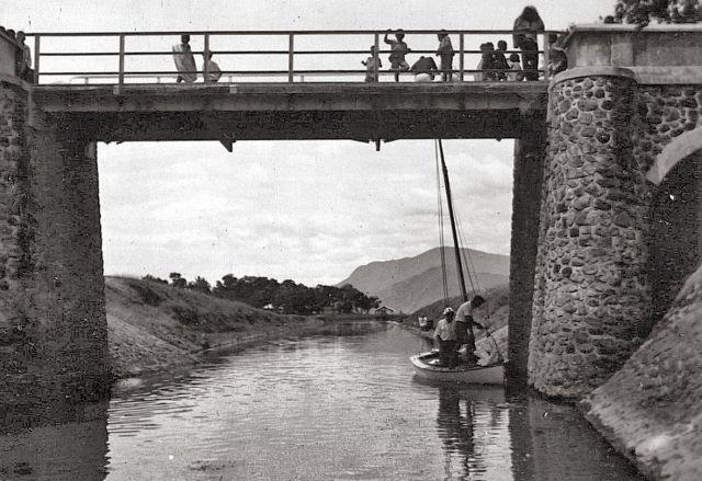 Het kanaal in 1935
