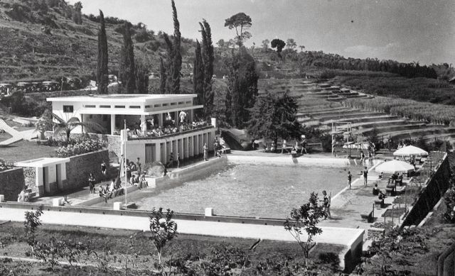 Het zwembad Selecta