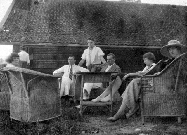 Het oude clubhuis, 1921
