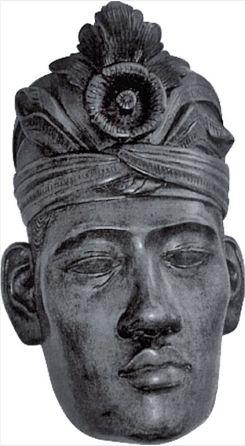 De Balinese maskerkop van Nico Vink