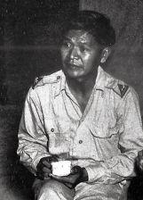 Overste Abdoel Kadir Widjojoadmodjo als commandant van de Nica op Nieuw-Guinea