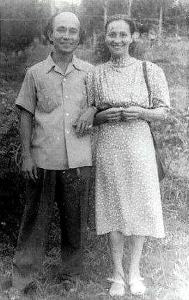 Nasoetion met zijn vrouw Adriana Nasoetion-Van der Have.