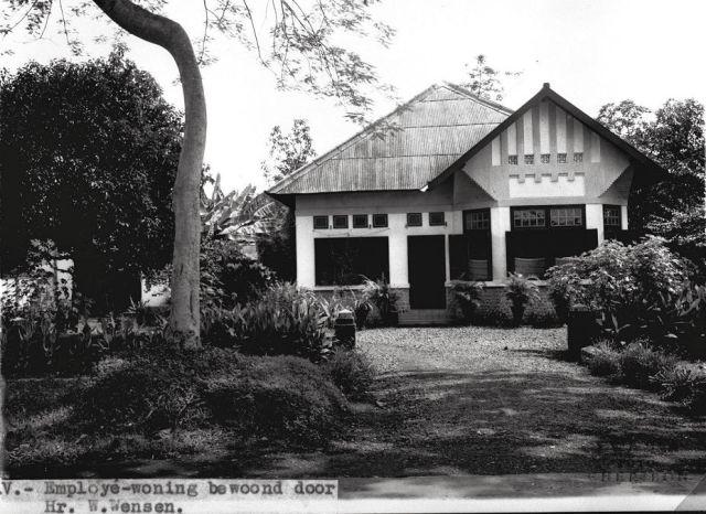 Personeelswoning, bewoond door W. Wens, 1938
