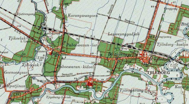 Paboearan, ZO van Cheribon