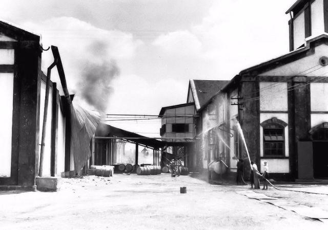 De brand in Wates, 1938